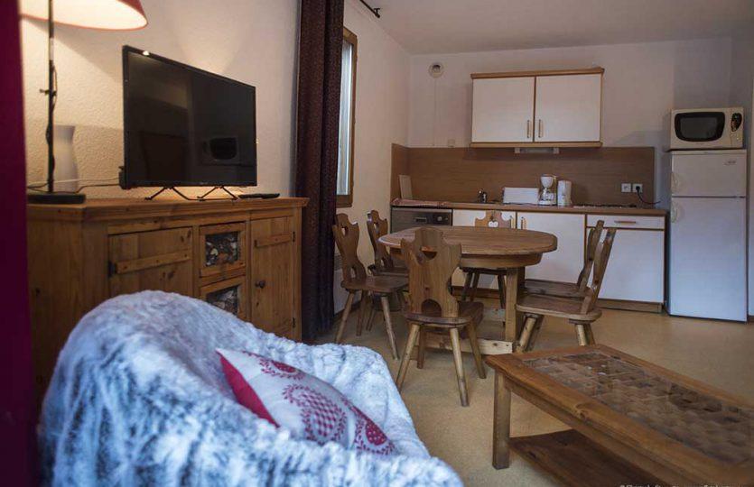 Vaujany apartment rental, self catering